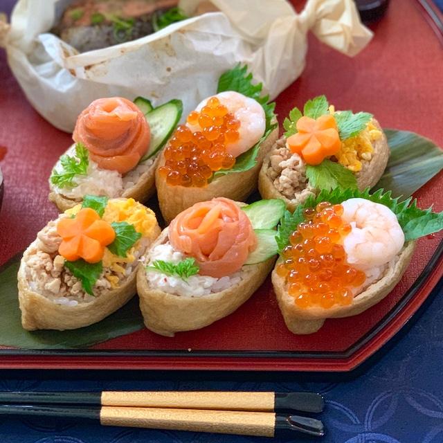 オープン稲荷寿司