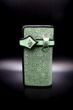 Item No.0356:Draw the wild Wallet/Lizard mint green