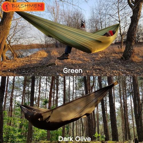 BUSHMEN ブッシュメン Hammock ULTRALIGHT ハンモック 軽量 パラシュート 自然派 キャンプ アウトドア