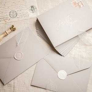 コットンカラー封筒 ベージュ(洋1)| 10枚
