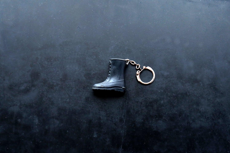 【フランス】靴のキーホルダー