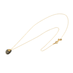 Stardust stone necklace(スターダストストーンネックレス)EMU-0101bk ブラックルチル