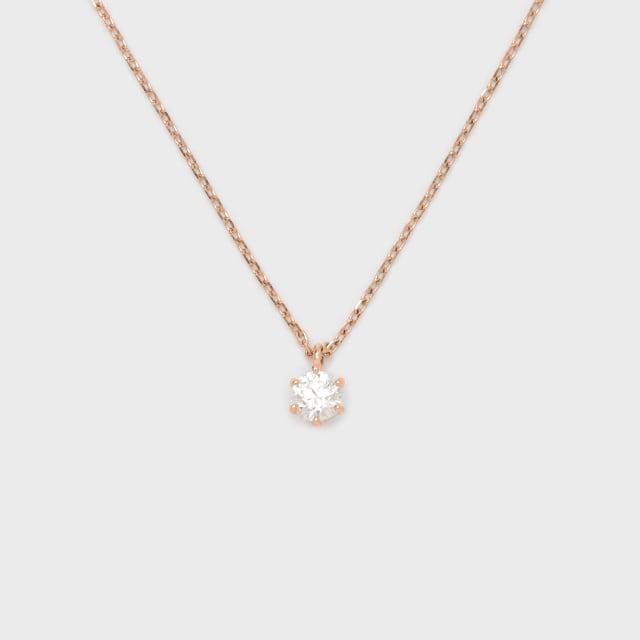 ENUOVE frutta Diamond Necklace K18PG(イノーヴェ フルッタ 0.2ct K18ピンクゴールド ダイヤモンドネックレス スライドアジャスターチェーン)