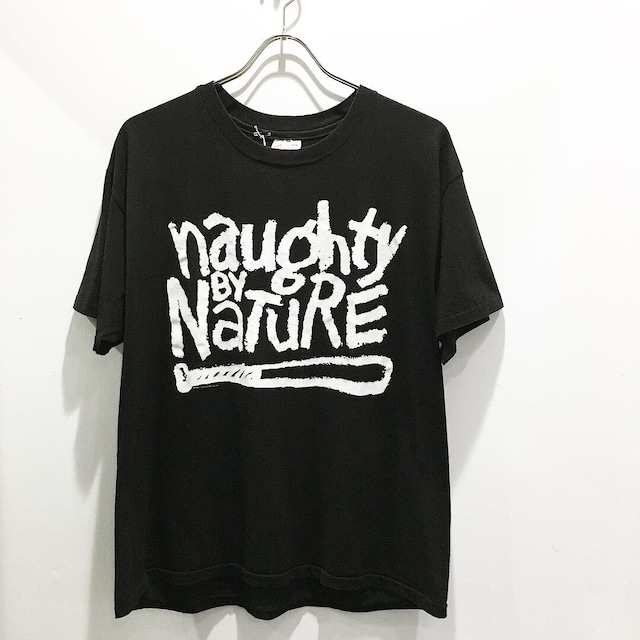 """90's Vintage """"NAUGHTY BY NATURE"""" Rap Tee"""