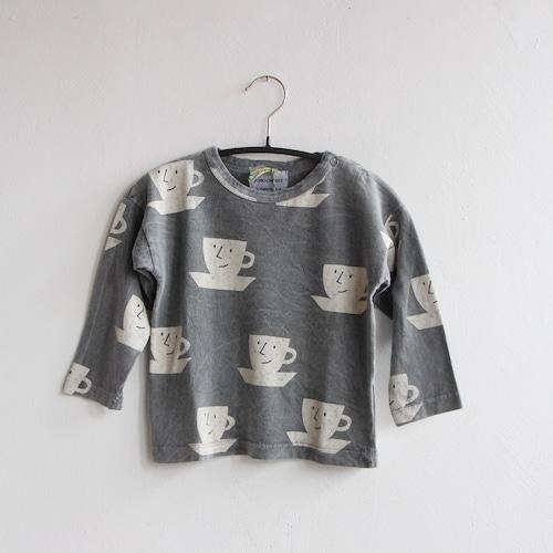 《BOBO CHOSES 2021AW》Cup Of Tea long sleeve T-shirt / 12-36M