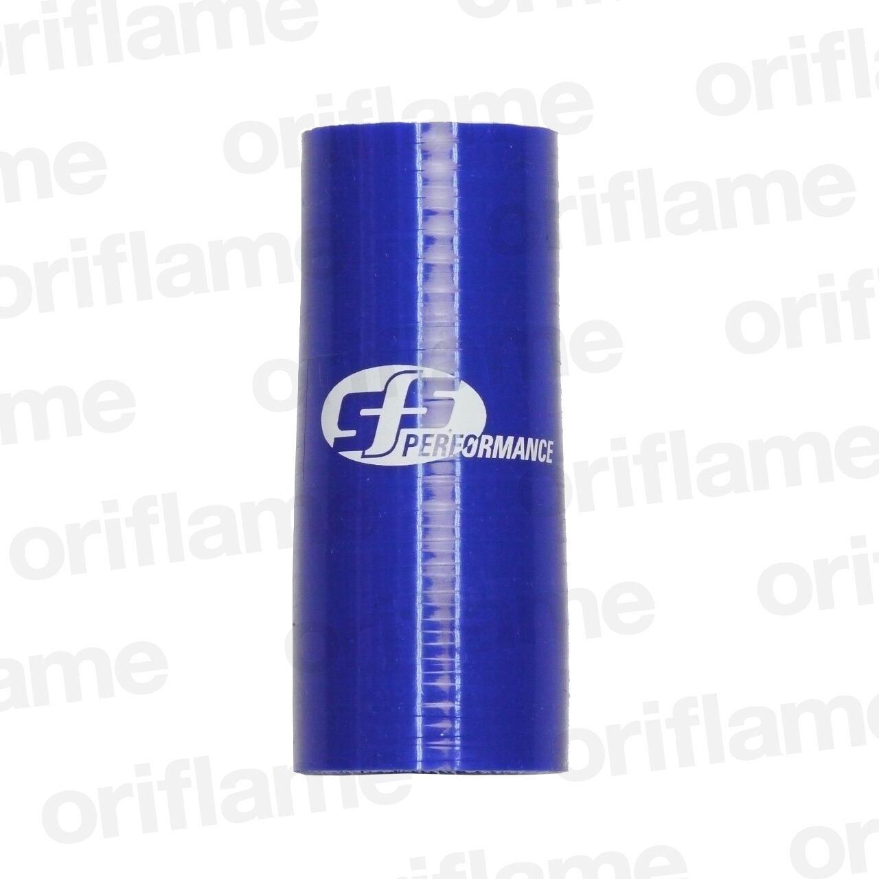 異径・ストレートホース・内径35 x 32mm・ブルー