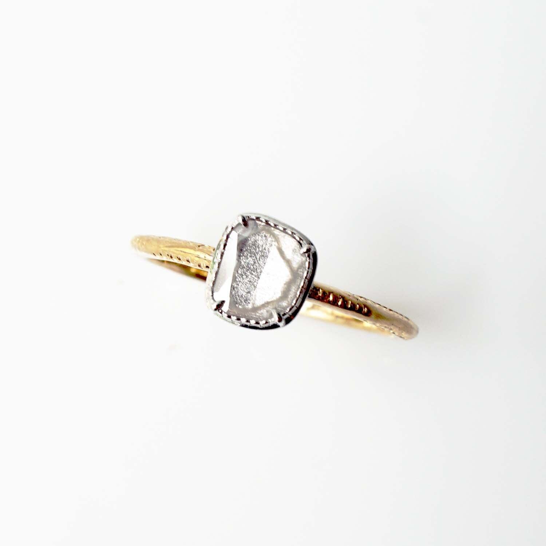Sliced Diamond Ring(DR004-YWD)