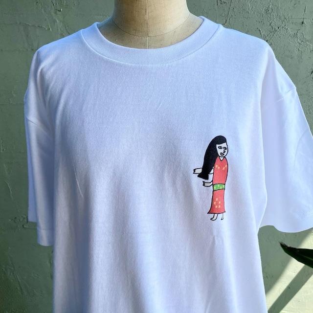 【巨匠動物園】見返り美人Tシャツ