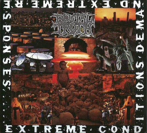"""BRUTAL TRUTH """"Extreme Conditions Demand Extreme Responses""""  (輸入盤)"""
