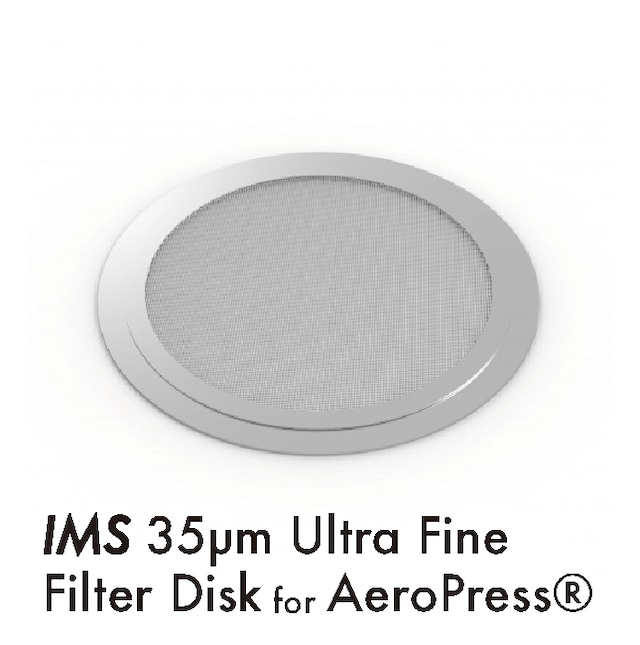 フィルターディスク● IMS Competition 150µm スーパーファイン AeroPress®用