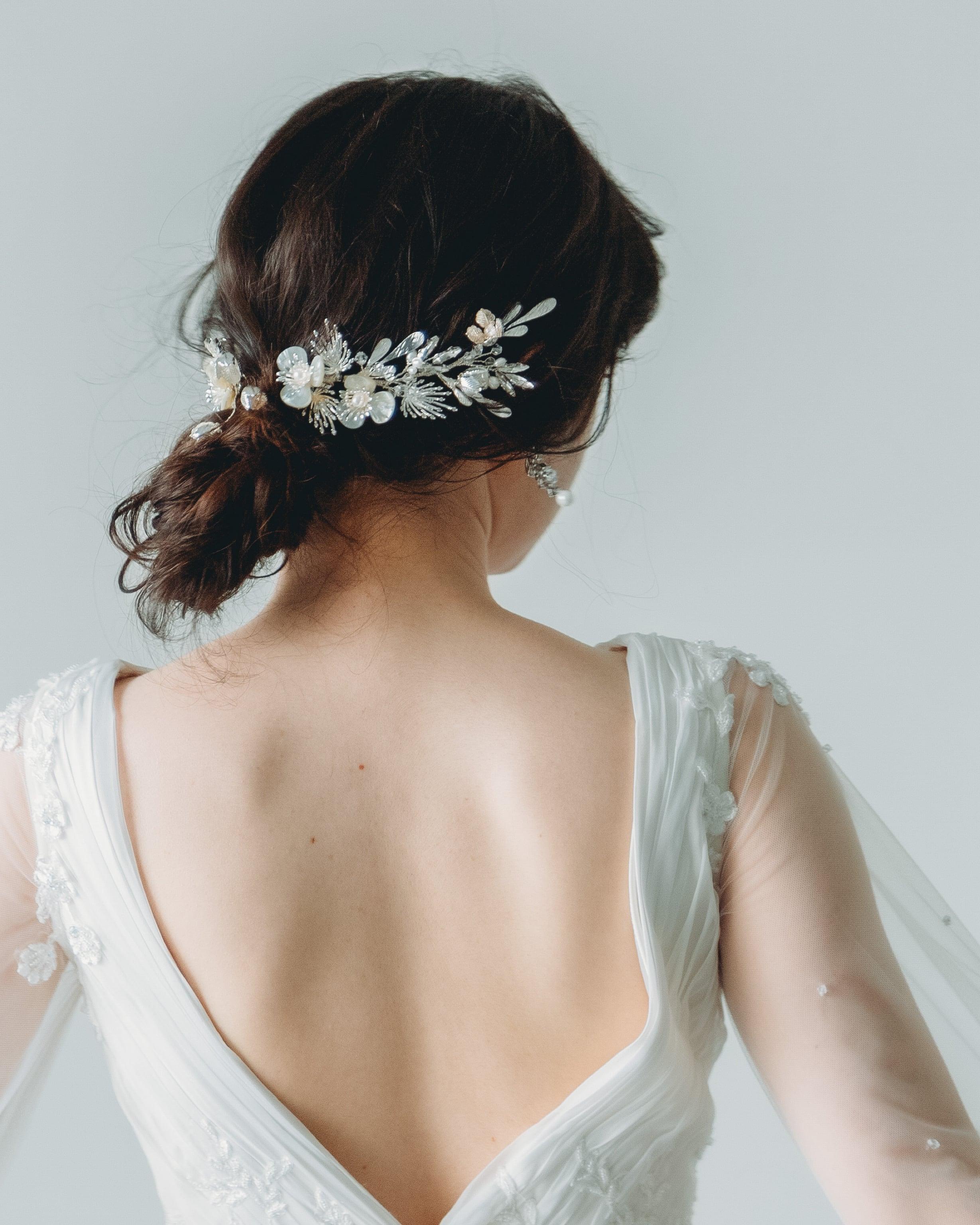 ブライダルヘッドドレス[HA-137]