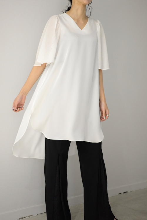 ROOM211 / Puff Sleeve Tunic (white)