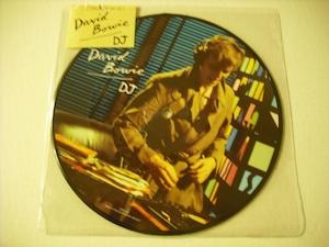 """【7"""" PICTURE DISC】DAVID BOWIE / DJ"""