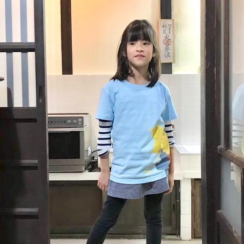 """【SKY BLUE/スカイブルー】【KIDS  """"Buttercup T """" 】Tシャツ キッズサイズ おしゃれ な オリジナルデザイン"""