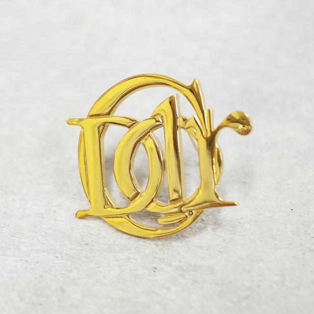 Christian Dior ディオール ブローチ ゴールド アクセサリー
