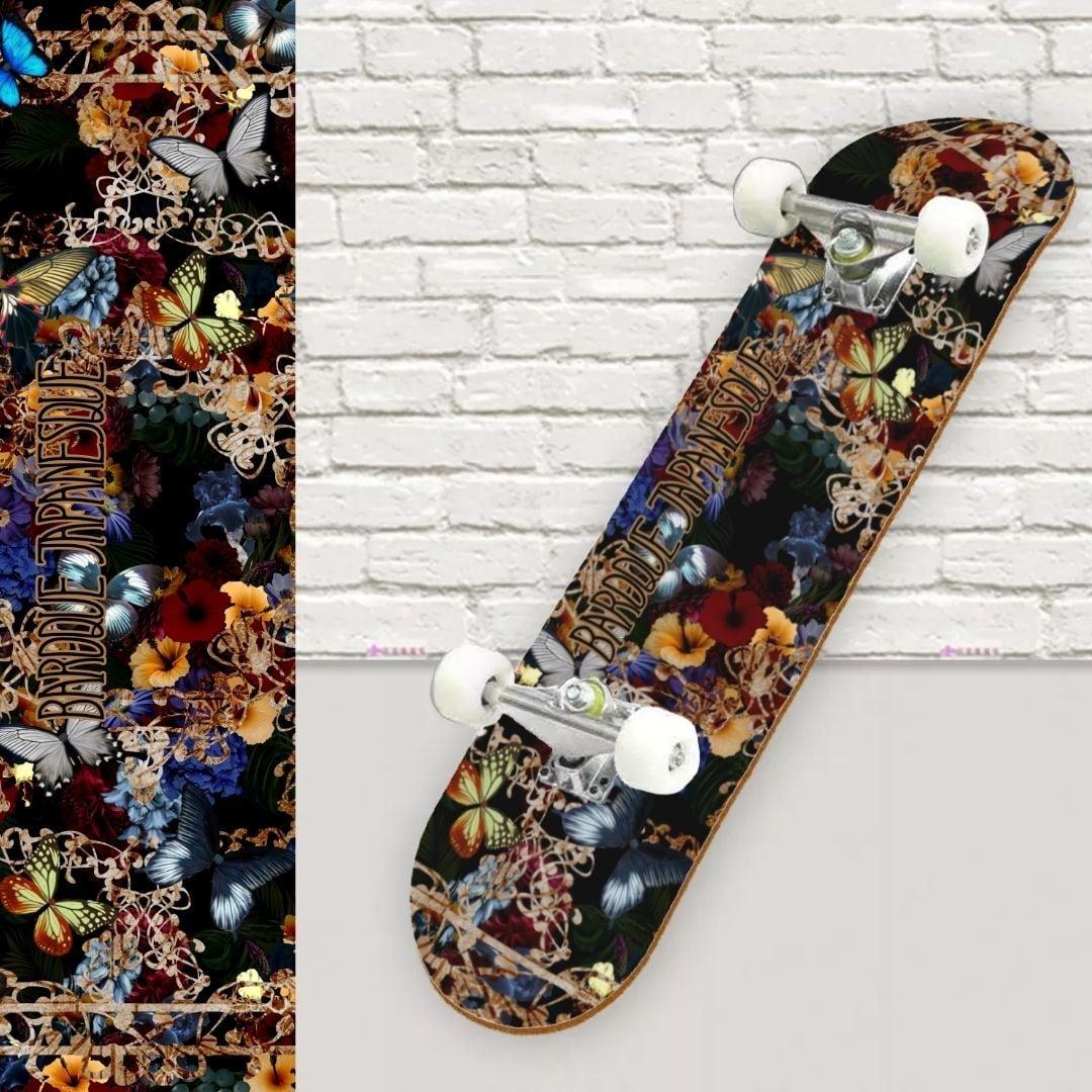 欧風華蝶 スケートボード裏面保護シート