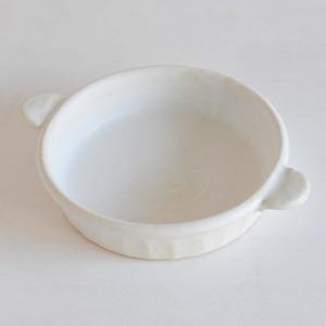 笠原良子 耐熱グラタン皿ラウンド5寸