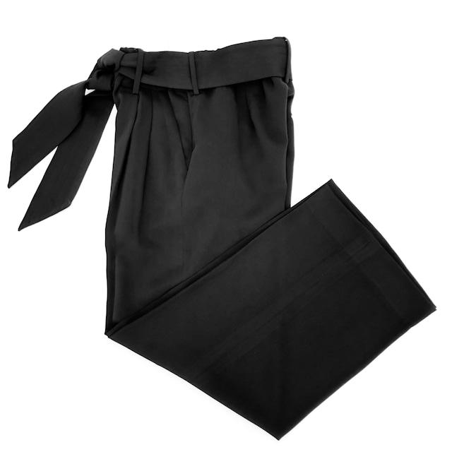 Formal Wide Pants/BLACK