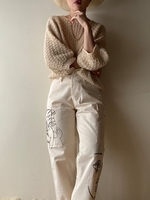 Vintage Picasso Art Pants①