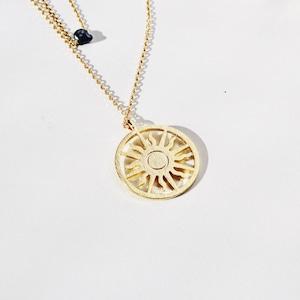 NECKLACE || 【通常商品】 GOLD NECKLACE SET 2 (BLACK) || 2 NECKLACES || GOLD×BLACK || FBA022