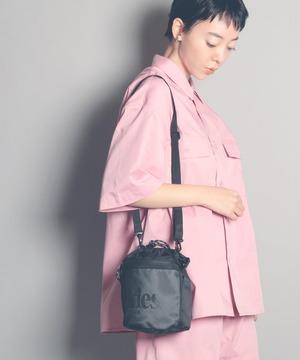 14740400【DICKIES/ディッキーズ】DK SEETHROUGH LOGO DRAWSTRING BAG/巾着バッグ