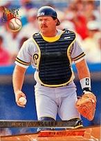 MLBカード 93FLEER Mike LaValliere #098 PIRATES