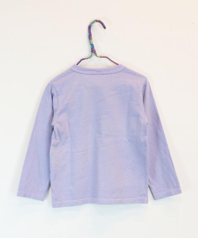 メッセージプリントロングTシャツ(日本製)