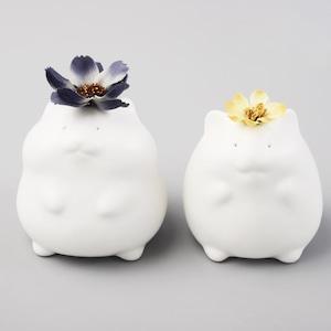 より道ハムスターの花瓶 / Hamster vase set of 2