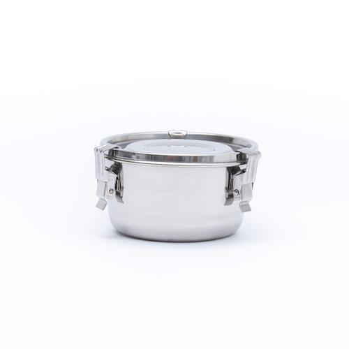 韓国ステンレス食器/キムチ桶/(3号)【直径13㎝/高さ7㎝】