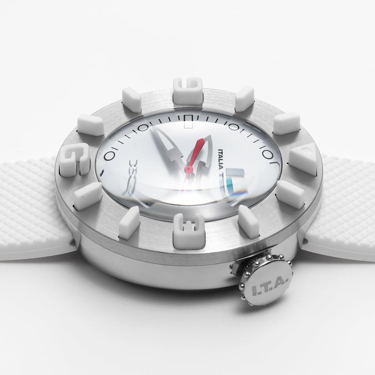 【I.T.A. アイティエー】DISCO VOLANTE ディスコ・ボランテ(ホワイト)/国内正規品 腕時計