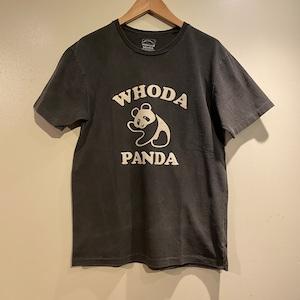 """【Mixta】 S/S Print T-Shirt """"WHODA PANDA"""" ミクスタ 半袖 プリント Tシャツ"""
