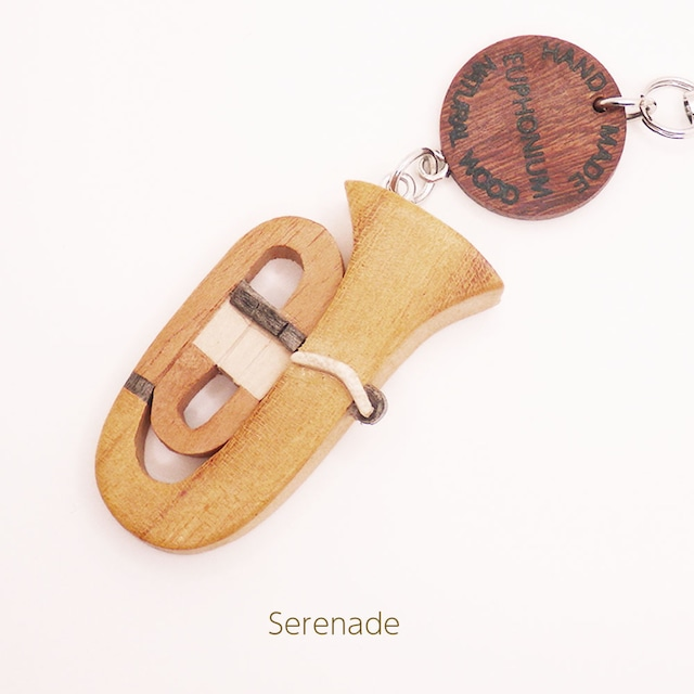 ユーフォニウム 木製楽器ストラップ