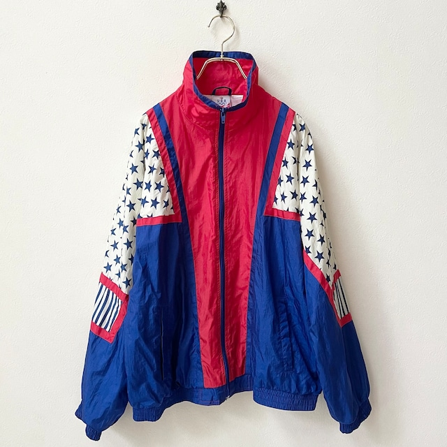 ジェーシーペニーズ JCPENNEY 80年代 ロサンゼルス  オリンピック オフィシャル ジャケット アメリカ古着 日本LL