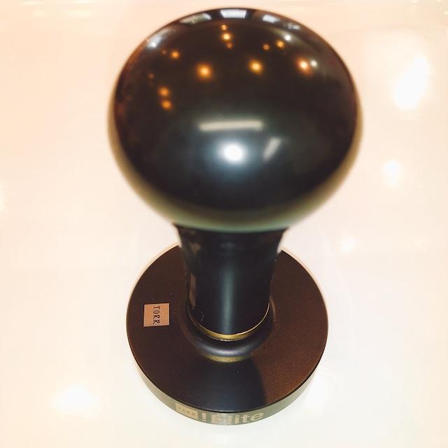 TORRタンパー●チタンコート 58.4mm P2C エボナイトハンドル 24k3mm
