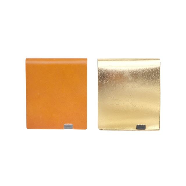 ボレロ ショートウォレット2.0 キャメル×ゴールド&ゴールド×キャメル