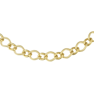 Link chain wide necklace ネックレス