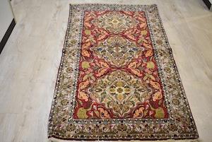 【SOLDOUT】178×100 #1100-0077 キメが細かく肌触りの良いシルク絨毯