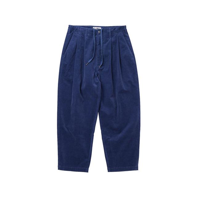 EVISEN BOHEMIAN CORD PANTS BLUE