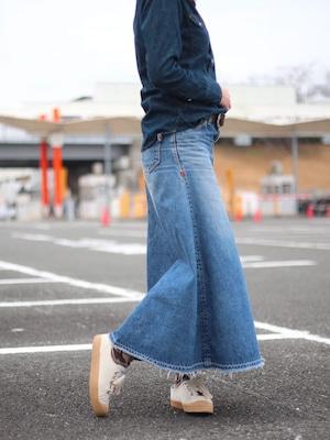 【ONEWASH】デニムマキシスカート