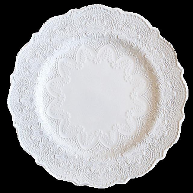 lace dish / ケミカル レースディッシュ 28cm