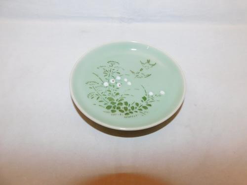 青磁小皿(1枚) celadon porcelain small one plate