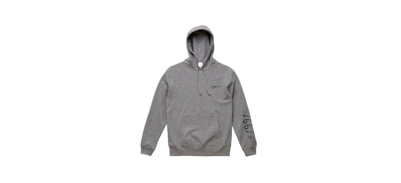 1991 logo hoodie (GRY)