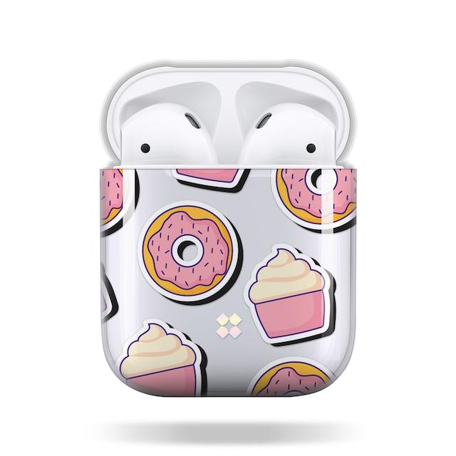 CaseStudi ケーススタディ PRISMART AirPods Case 2018 エアーポッズ ハード ケース 男女兼用 ドーナツ Donut 国内正規品