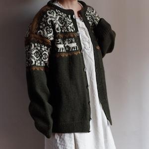 Nordic Sweater / ノルディック セーター / カーディガン
