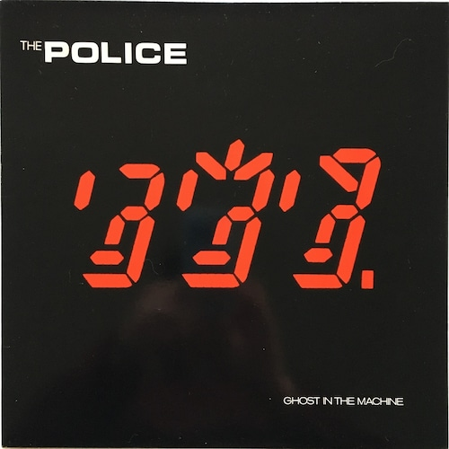 【LP・米盤】The Police  /  Ghost In The Machine