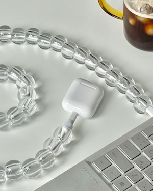 clear ball cord jewelry