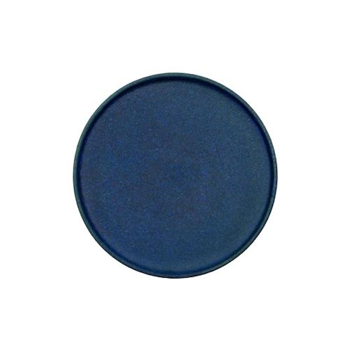 若狹祐介 フチタチ皿15cm 藍香