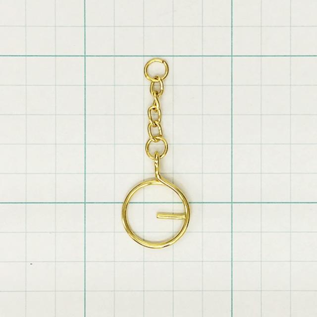 Gカン(小)鎖付 G