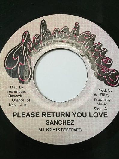 Sanchez(サンチェス) - Please Return You Love【7'】