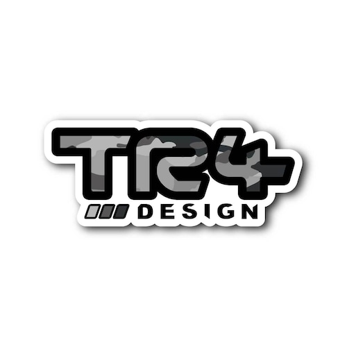 【 TR4Design 】TR4Design Sticker Decal #02CAMO